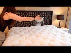 Verteile Backpulver auf deinem Bett und das wird passieren! - YouTube