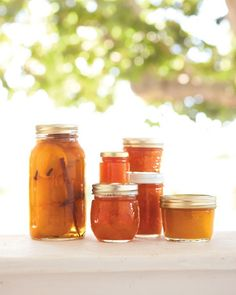 Peach Jam - Martha Stewart Recipes  This easy peach jam recipe preserves orchard-fresh flavor with nothing but sugar, lemon, and salt. The fresh peach jam can be refrigerated for up to two months.