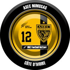 DNZ Football Buttons: ASEC Mimosas