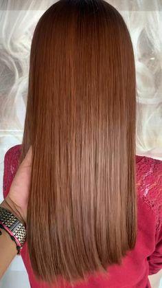 Pelo Color Caoba, Silky Hair, Hairspray, Cut And Color, Auburn, Diy Hairstyles, Hair Inspo, Dyed Hair, New Look