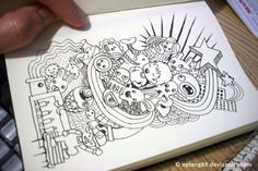 Doodle Monsters by =vicenteteng on deviantART   *mos*