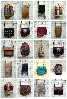boho bags - own one or own them all..