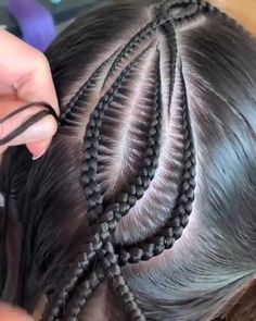 Box Braids Hairstyles For Black Women, Black Ponytail Hairstyles, Twist Braid Hairstyles, Easy Hairstyles For Long Hair, African Braids Hairstyles, Braids For Black Hair, Long Wavy Hair, 1920s Long Hair, Hair Up Styles