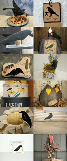 Something To CROW About by Karen Blevins on Etsy--