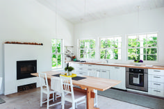 Kitchen of the Week: A Streamlined Cape Cod Classic: Remodelista