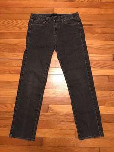Calvin Klein Jeans Women's Skinny Jeans 31/12  Dark Grey  EUC #CalvinKlein #skinny