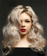 Woman Long Hairstyles for - Long Bob Hairstyles 2019 Virtual Hairstyles, Long Bob Hairstyles, Hairstyles With Bangs, Long Length Hair, Long Wavy Hair, Long Pixie, Thin Hair, Pinterest Haircuts, Light Blonde Hair