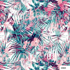 Estampa do dia Nanete Têxtil #estampa #estamparia #malha #print #tendência #nanete #tropical www.nanete.com.br