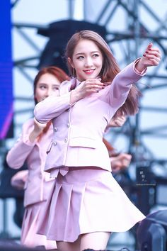 Yuehua Entertainment, Starship Entertainment, Xuan Yi, Cheng Xiao, Cosmic Girls, Stage Outfits, Aurora Sleeping Beauty, Bell Sleeve Top, Korean