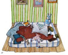 Неделя 11 - Показываем Мой Дом и рисуем Стариков - Elina Ellis Illustration