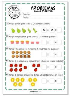 Pin on Beauty Pin on Beauty Kindergarten Worksheets, Preschool Activities, Montessori Math, Grande Section, Primary Maths, Math For Kids, School Fun, Mathematics, Kids Learning