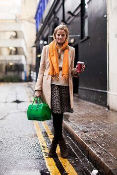 Kelly green handbag, check!