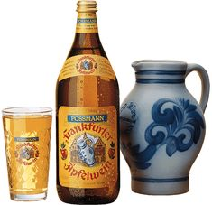For over 125 years, the Possmann family has made traditional German apple wine in the manner first handed down by Phillipp Possmann in 1881. Frankfurt/Main http://www.possmann.de/de/home