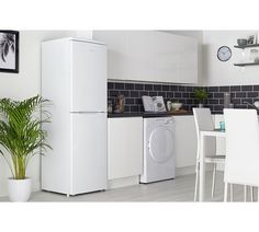 Buy Candy CSC1745WE Tall Fridge Freezer - White at Argos.co.uk - Your Online Shop for Fridge freezers, Large kitchen appliances, Home and garden.