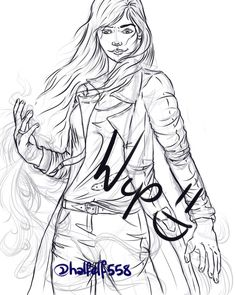 """34 Likes, 2 Comments - Steph A. Nidd (@halfelf558) on Instagram: """"Finished the lineart. Is it bad Darquesse is becoming one of my favourite characters? #darquesse…"""""""