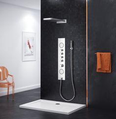 Axel Panel prysznicowy Lambda http://www.excellent.com.pl/produkt/497/panel-prysznicowy-z-termostatem-lambda