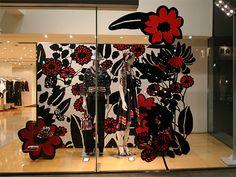 Visual: KENZO - Vidrieras de Tokyo