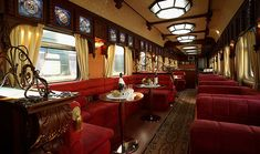 Rail Travel: The 6 Best Luxury Train Vacations ~ showing the Trans-Siberian Express from Moscow to Mongolia. Train Tracks, Train Rides, 6 Train, Orient Express Train, Train Vacations, Family Vacations, Dream Vacations, Trans Siberian Railway, Train Tour