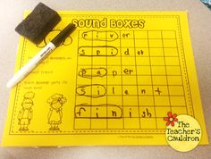 Sound Mapping Freebie - helps with phonics!
