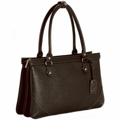 Brown Leather Day Bag - leather purse for her - Rs.3590 : Gifts to India - buy online