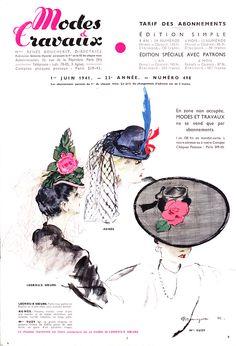 PIERRE MOURGUE Modes et Travaux - June 1, 1941