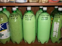 Repurposing 2 Liter Bottles for Food Storage