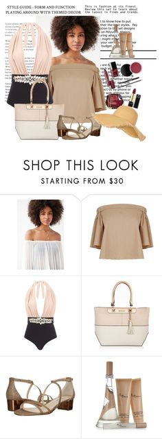 """Nice look for summer"" by nefertiti1373 ❤ liked on Polyvore featuring Kimchi Blue, TIBI, River Island, Nina and New Look"