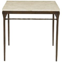 Bernhardt Occasional Desmond Square Chairside Table