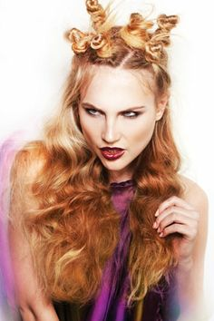 Hair: Jamie Stevens @ Jamie Stevens Hair. Make-up: Dragon. Styling: Bernard Connolly. Photography: Barry Jeffery