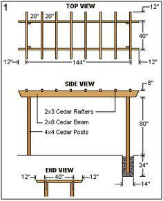 The pergola kits are the easiest and quickest way to build a garden pergola. There are lots of do it yourself pergola kits available to you so that anyone could easily put them together to construct a new structure at their backyard. Diy Pergola, Gazebo, Pergola Cost, Building A Pergola, Small Pergola, Pergola Canopy, Pergola Attached To House, Metal Pergola, Deck With Pergola