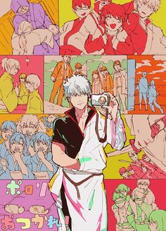 Samurai, Manga, Otaku, Gintama, Link Art, Okikagu, Character Design Animation, Kawaii, Bts Lockscreen