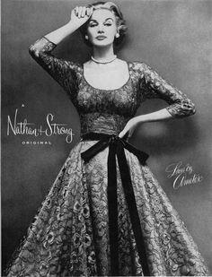Sunny Harnett, 1952, print ad Nathan Strong