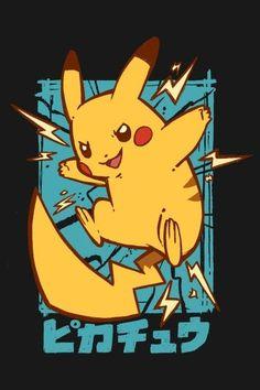Pikachu Pikachu, Pokemon T, Pokemon Fusion, Pokemon Cards, Japanese Graphic Design, Japanese Art, Pokemon Backgrounds, Pokemon Poster, Pokemon Starters