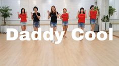 Daddy Cool- Line Dance (Ultra Beginner)Jenifer Wolf Country Dance, Aerobics, Zumba, Line, Dancing, Wolf, Daddy, Cool Stuff, Fitness