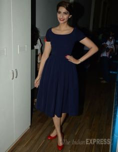 Sonam Kapoor at the launch of 'Go Bonkers'. #Bollywood #Fashion #Style #Beauty