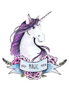 Poster Unicórnio https:// / Unicorn And Glitter, Real Unicorn, Unicorn Art, Magical Unicorn, Rainbow Unicorn, Unicorn Poster, Beautiful Unicorn, Unicorn Tattoos, Unicorns And Mermaids