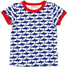 BaBa Babywear T-shirt Allover Sharks
