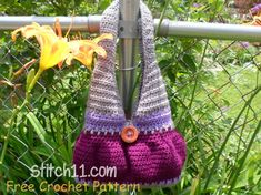Free Crochet Purse Pattern