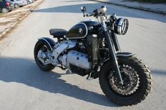 BMW K 1200 RS custom by Galaxy Custom