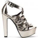 Live It Up in the Liquid Metallic Jessica Simpson 'Parissa' Platform Sandals