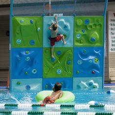 AquaClimb #Fun, #Pool, #Train, #Unique