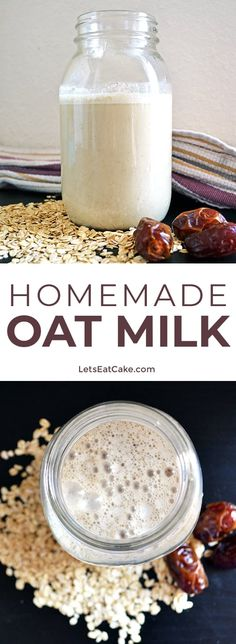 Curious about oat milk Find out about oat milk s benefits oat milk s nutritional information and how to make your own homemade oat milk oatmilk oats oatmilkrecipe plantmilk veganrecipes veganfood oatmeal oat plantbased plantbasediet milk glutenfree Milk Recipes, Vegan Recipes, Flour Recipes, Oat Milk Benefits, Get Thin, Liqueur, Plant Based Diet, Healthy Drinks, Healthy Milk