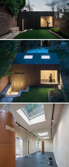 Patios ideas creativas para oficinas y casas de huéspedes asombrosas
