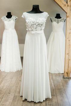 """Vestuvinių suknelių salono """"Mano Suknelė"""" 2014 metų kolekcijos modeliai."""