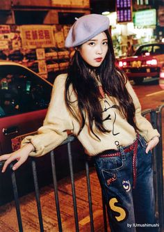 She is my favorite Korean singer, I wanna change a haircut like her! How do you feel this Korean Actresses, Korean Actors, Iu Chat Shire, Kpop Fashion, Korean Fashion, Korean Celebrities, Celebs, Korean Girl, Asian Girl