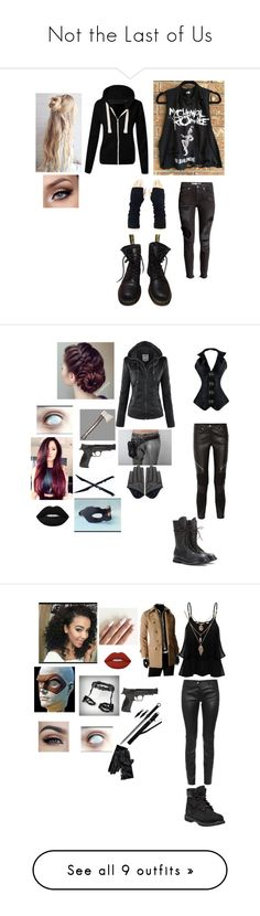 """Not the Last of Us"" by christianisntapotato ❤ liked on Polyvore featuring H&M, Dr. Martens, Givenchy, Smith & Wesson, Wallace, Rick Owens, Lime Crime, Balenciaga, Timberland and Tommy Hilfiger"