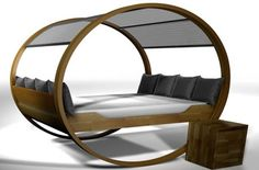 The Private Cloud, a rocking bed...  Looks fun but not sure about an everyday kind of fun lol