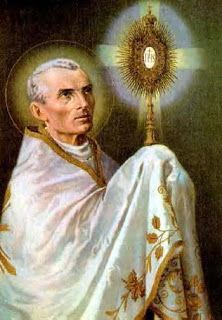 Ángeles y Santos: San Pedro Julián Eymard, presbítero y fundador