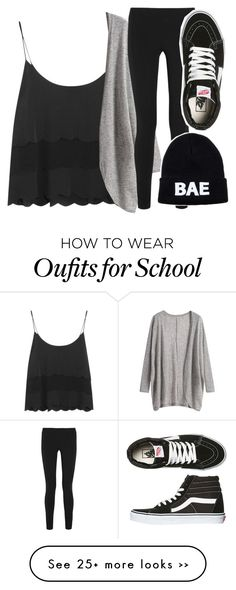 """My first day of school outfit"" by volleyballspikr on Polyvore"