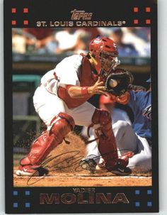 2007 Topps RED BACK #660 Yadier Molina - St. Louis Cardinals (Baseball Cards) by Topps. $0.88. 2007 Topps RED BACK #660 Yadier Molina - St. Louis Cardinals (Baseball Cards)